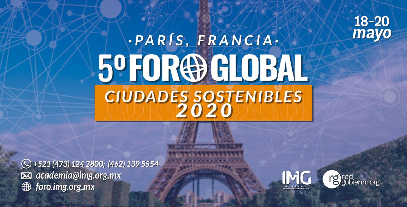 5º Foro Global Ciudades Sostenibles en París. Instituto Mejores Gobernante AC, Organización Mundial de Ciudades Sostenibles